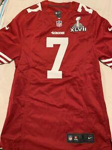 d2093409c Image is loading NFL-Jersey-San-Francisco-49ers-Colin-Kaepernick-Superbowl-