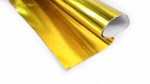 Gold Hitzeschutzmat<wbr/>te Gold 30 x 30 cm Selbstklebend Hitzeschutz Isolierung