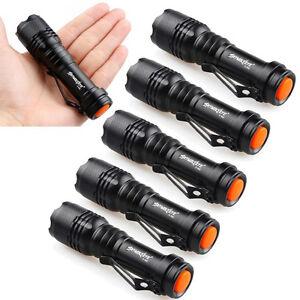 Torch 6pc Super Bright Q5 5000lm Light Zoomable Flashlight Led Nice OrYqHRO