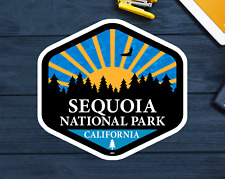 National Park ca rv American Vinyl California Bear Shaped Sequoia Sticker
