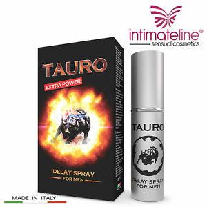 TAURO Delay Spray RITARDANTE Eiaculaizone Precoce UOMO Naturale EXTRA FORTE