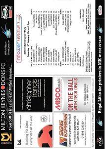 Teamsheet-Milton-Keynes-Dons-v-Bury-2012-13-12-Jan