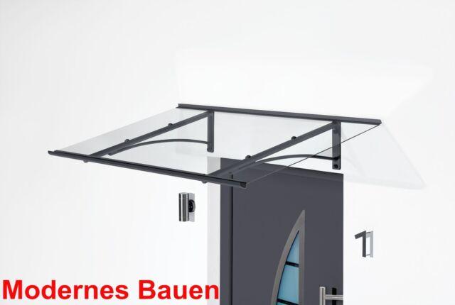 Höhe 185 cm anthrazit GUTTA Seitenblende PT//GR für Vordächer PT//GR
