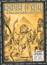 MONSTERS OF METAL VOL.4 2 DVD DIGIBOOK NEUWARE!