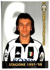 Cartoncino Juventus 1997/98 – Manuel Marques Dimas