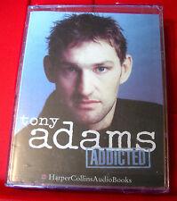 Tony Adams Addicted 2-Tape Audio SEALED Jasper Britton Football/Drink/Alcoholism