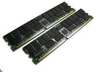 371049-b21 4gb 2x 2gb Hp Proliant Dl145 Dl385 Dl585 Bl25p Memory Ram 361039-b21