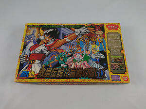 Jeu-de-Societe-Chevaliers-Du-Zodiaque-Saint-Seiya-board-game-1987-rare