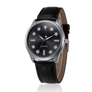 Gents-Black-Simple-Geometrical-Style-Faced-Black-Faux-Leather-Watch