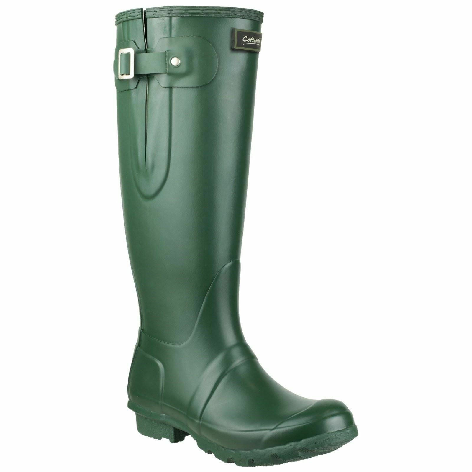 Cotswold Plain Rubber wellingtons Green Rubber Windsor Green Rubber