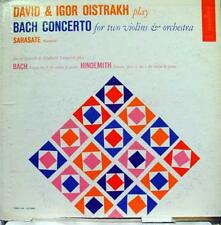 David & Igor Oistrakh - Bach Concerto LP VG+ MC 2009 Vinyl Record
