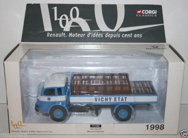 CORGI 1 50 SCALE 71103 - 1957 VICHY ETAT - RENAULT FAINEANT -100 YEARS OF RENAUT