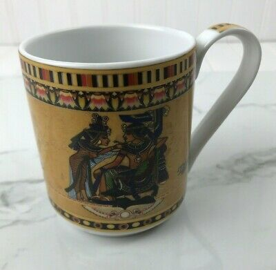Egyptian Design Coffee Cups