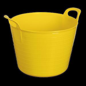 Sft40y Sealey Outils Lourds Flexi Tub 40ltr-jaune [janitorial] Seaux-afficher Le Titre D'origine Tkaoiz90-08002150-893708569