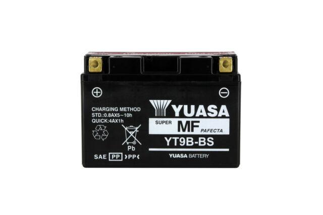 Batería Yamaha Xp 500 t-max 2001-2007 Yuasa  YT9B-BS