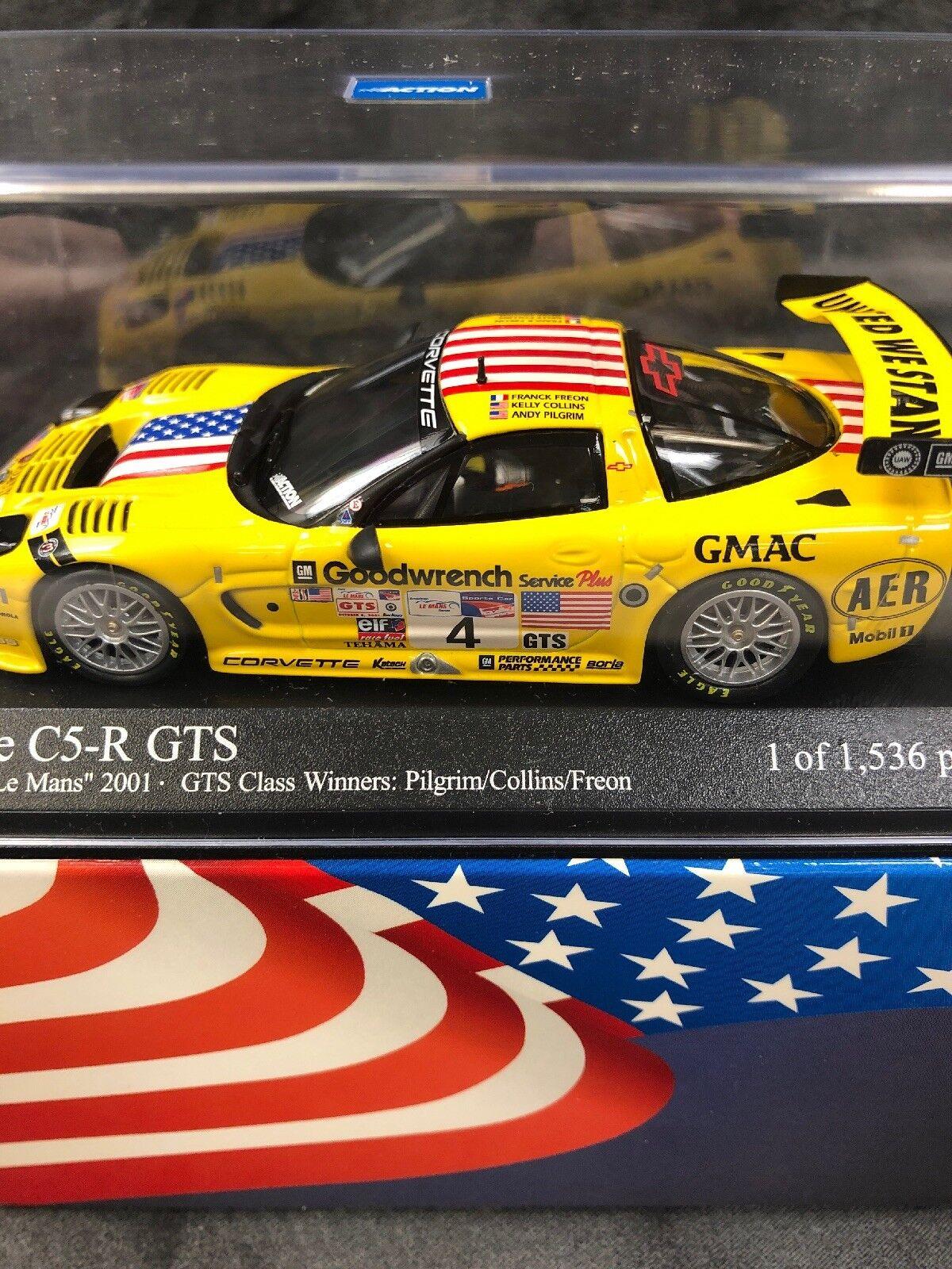 9 11 TRIBUTE ACTION CORVETTE C5-R GTS ALMS  2001 GTS CLASS WINNERS OF 1,536