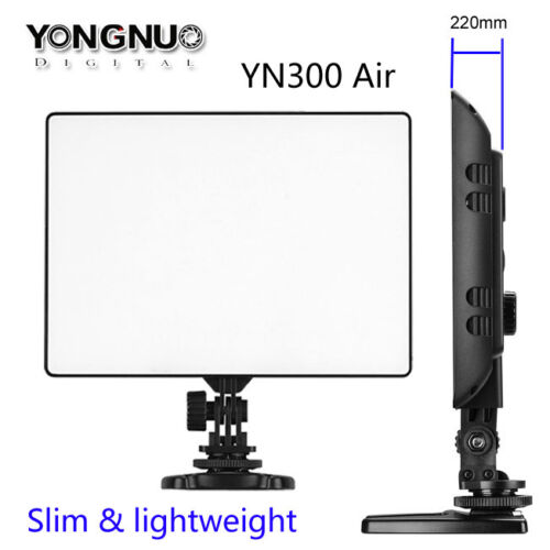 Cámara SLR YONGNUO YN-300 YN300 Aire Pro LED Luz de Vídeo Estudio para D DV Videocámara