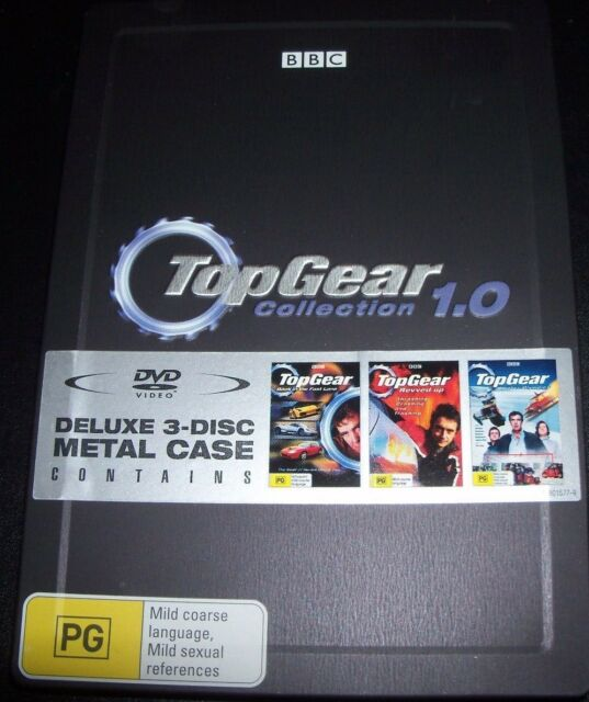 Top Gear Collection 1.0 Steelbook Metal Case (Australia Reg 4) DVD - Like New