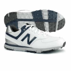 Details about New Balance Men's 574 SL Spikeless Golf Shoe NBG574 White Navy 11.5 4E X Wide