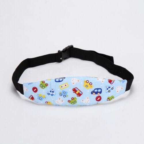 Support Holder Stroller Car Seat Sleep Aid Secure Headband Safety Head Belt FAC