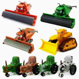 Disney Pixar Cars Lot Chuy Frank Tractor 1:55 Diecast Model Bulldozer Toys Loose