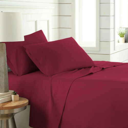 200 Thread Count 100/% Egyptian Cotton Flat Sheet Single Double King Super King
