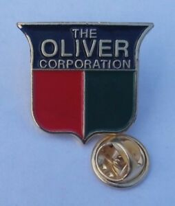 Rare Pin Badge Other Oliver Corporation Tractor #1