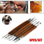 6pcs-Clay-Sculpting-Set-Wax-Carving-Pottery-Tools-Shapers-Polymer-Modeling-AU thumbnail 2