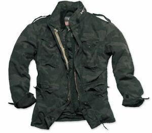 Veste parka d'hiver militaire m65 regiment vintage