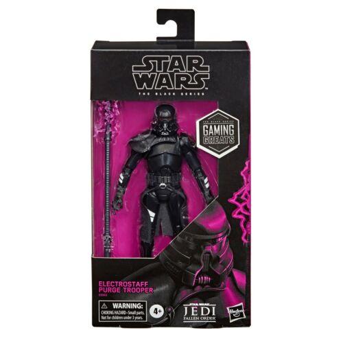"Star Wars Jogos Greats Black Series 6/"" electrostaff purga Trooper pré-pedido"
