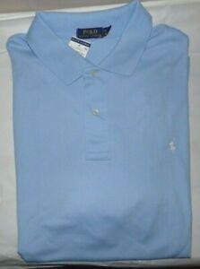 Grand Étiquettes Hommes ~3x Neuf Détails S Bleu Sur Lauren Chemise Polo ~ Avec Ralph 4L5A3Rj
