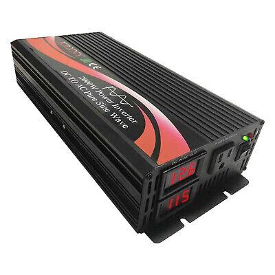 Power Inverter pure sine wave 1000 W 1500 W 2000 W 12 V 24 V 48 V Detective Comics pour 120 V AC 60 Hz