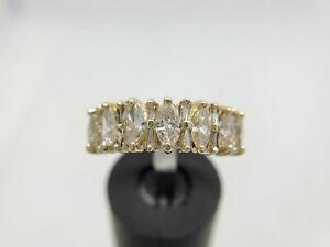 14k-Yellow-Gold-Natural-Marquise-Baguette-Diamond-Ring-1-50-ct