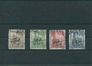 Germany-Berlin-vintage-yearset-1953-Mi-106-109-Postmarked-Used-More-Sh-Shop-3