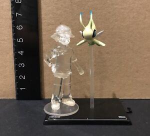 Yujin-Takara-Tomy-Nintendo-Pokemon-Zukan-1-20-1-40-Scale-Ash-amp-Celebi-Figure