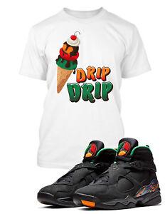 a30387ed280654 Drip Drip Tee Shirt to Match Retro Jordan 8 Air Raid Shoe Mens ...