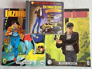 Lazarus-Ledd-sequenza-completa-da-1-a-89-CD-Star-Comics-DOT