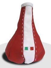 CUFFIA CAMBIO FIAT GRANDE PUNTO SMOKING ROSSO