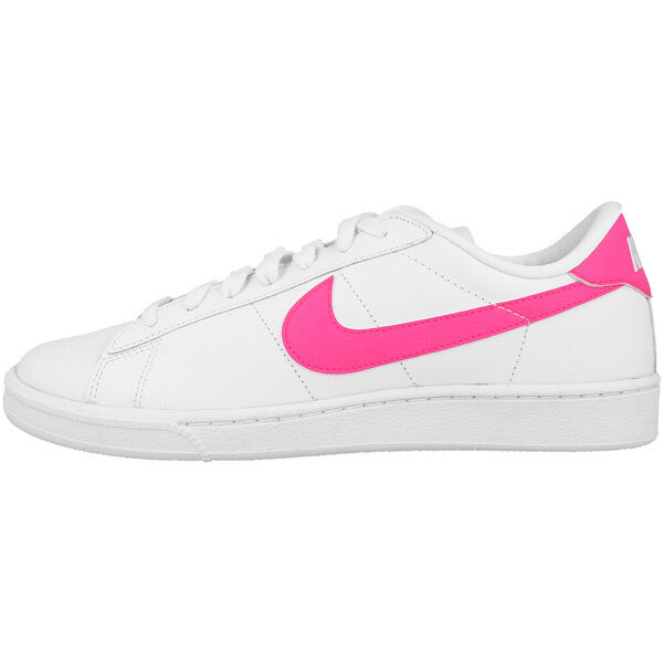 Nike Tennis Classic espadrille chaussures femmes blanc rose 312498-137 Baskets
