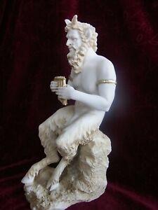 Alabaster-Patina-Pan-griechische-Mythologie-Gotter-Griechenland-A04-08