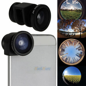 more photos 9ca48 24387 Details about 3 In1 Fisheye lens,Wide Angle,Macro Lens Quick-change Camera  Kit for iPhone 5 5S