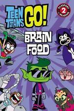 Passport to Reading Level 2: Teen Titans Go! - Brain Food by Jennifer Fox...