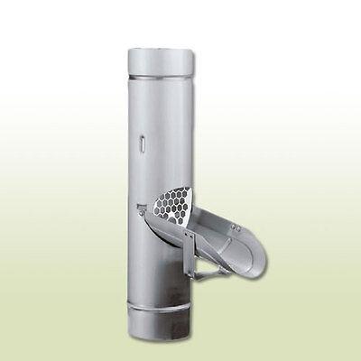 Fürs Dach Regenrinnen & Zubehör Professioneller Verkauf Aluminium Regenwasserklappe Dn 120 Mit Sieb Offensichtlicher Effekt