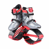 Kangoo Jumps Shoes Grey/red Jumping Boots Bouncy Shoes Spring Fitness Shoes