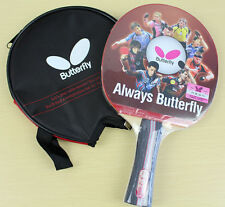 Butterfly TBC302 Table Tennis Ping Pong Racket Paddle Bat Blade FL NEW GENUINE