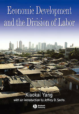 1 of 1 - USED (GD) Economic Development and the Division of Labor by Xiaokai Yang