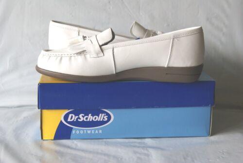 pillo insole shoes size 7 1//2M Scholls women/'s white double air Dr