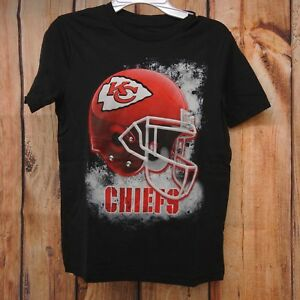 9067bb4c New NFL Kansas City Chiefs Youth Boys Red Dri Fit Cotton Team Logo T ...