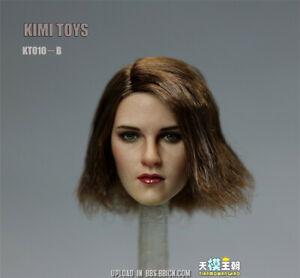 KIMI-TOYS-KT010B-1-6-Female-Head-Rooted-Hair-SUNTAN-Head-Model-F-12-039-039-Figure