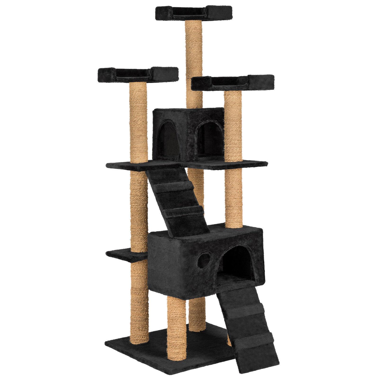 Tiragraffi per gatti 169 cm gatto gioco palestra albero graffiatoio